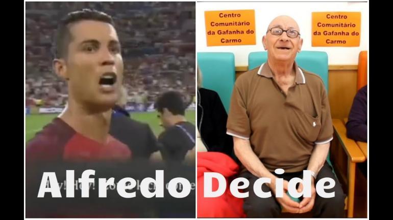 Alfredo decide Portugal x Polónia
