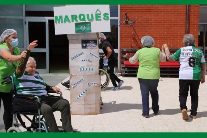 Vídeo - Centro Comunitário vai até ao Marquês de Pombal