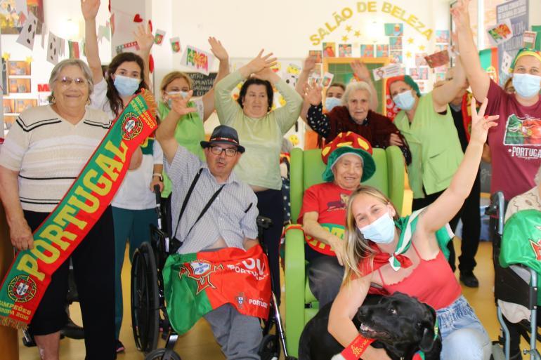 Vídeo - Centro Comunitário apoia Seleção Portuguesa