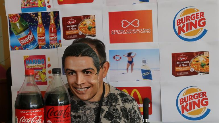 Vídeo - Queres Água? Cristiano Ronaldo