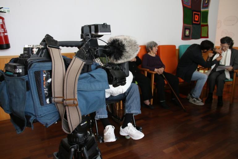 Vídeo - RTP vem ao Centro Comunitário